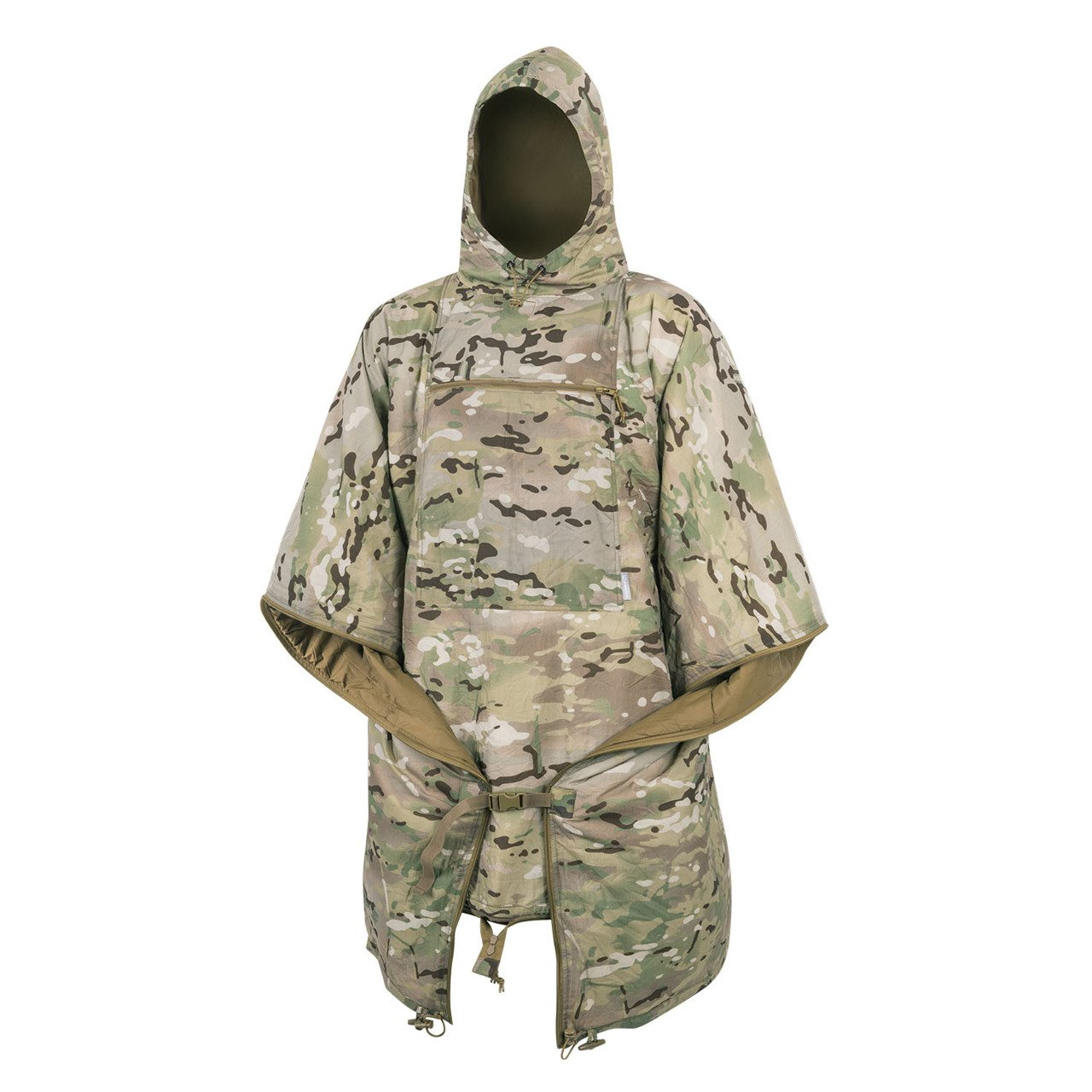 Helikon Swagman Roll Insulated Poncho Long Coat Liner Climashield Apex Camogrom