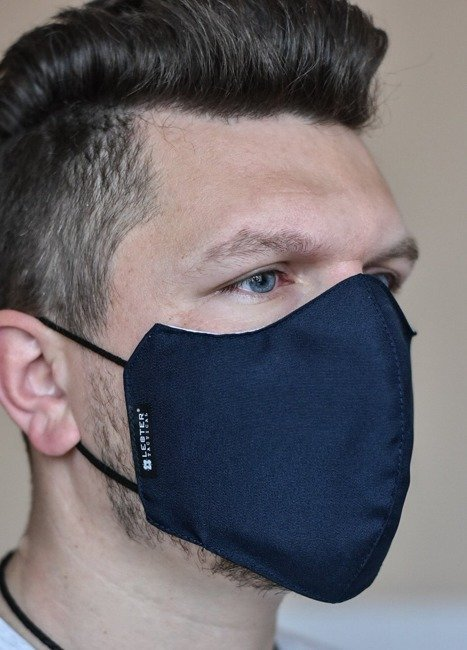 Urban Gear reusable EDC mask with integred filter - Lecter Tactical - Midnight Blue