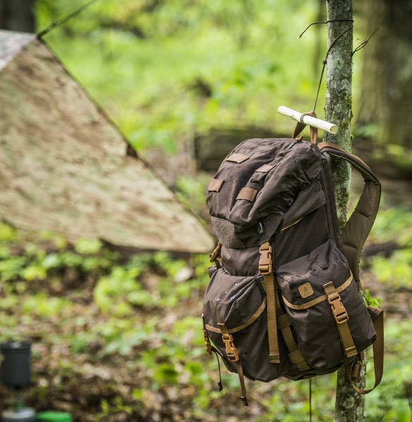 BERGEN BACKPACK - COYOTE - HELIKON