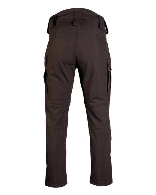 BLACK SOFTSHELL PANTS ′ASSAULT′