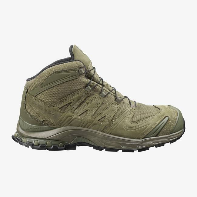 BOOTS XA FORCES MID - GORETEX - RANGER GREEN - SALOMON