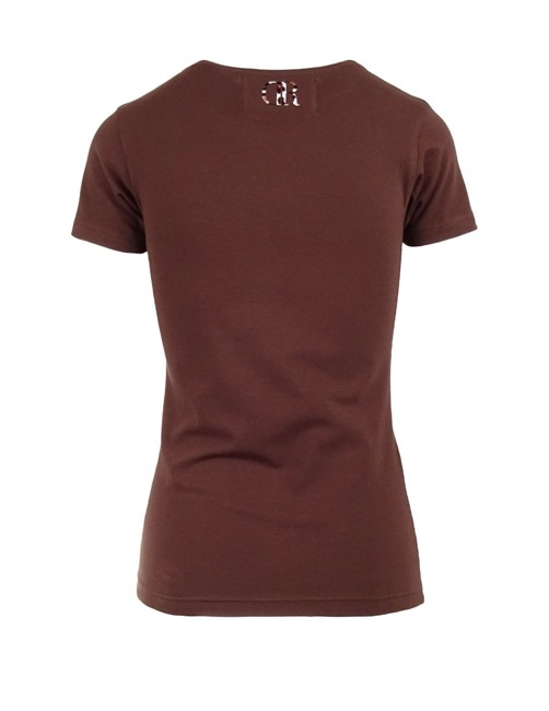 Brown T-Shirt By Animals - Double Red