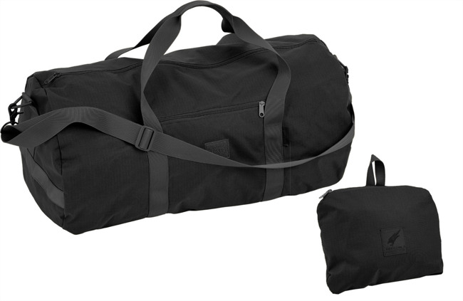 DEFCON 5 FOLDABLE DUFFLE BAG Black