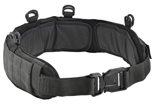 DEFCON 5 PADDED BELT WITH AUSTRIALPIN BUCKLE Black