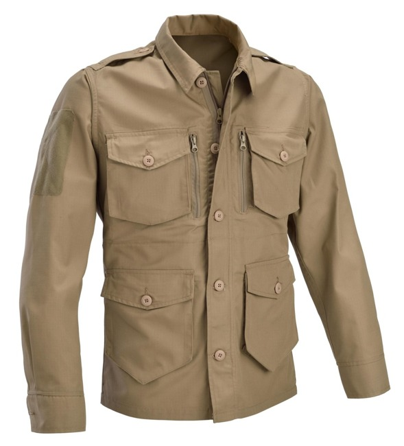 DEFCON 5 PANTHER JACKET RIP STOP POLYCOTTON Coyote Tan