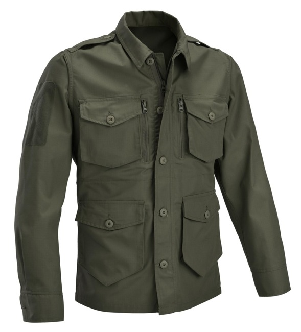 DEFCON 5 PANTHER JACKET RIP STOP POLYCOTTON OD Green