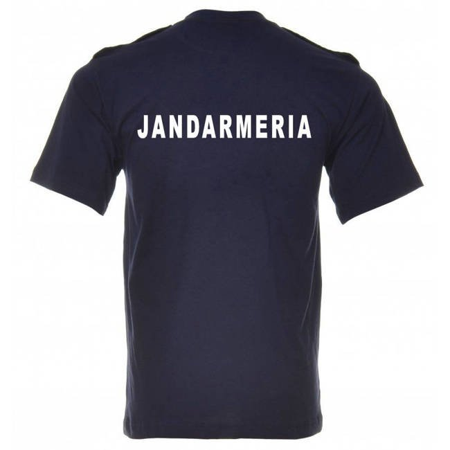 Dark blue shirt with epaulets for IGJR