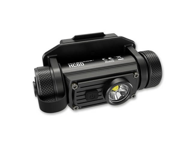 FLASHLIGHT HC60M - BLACK - NITECORE