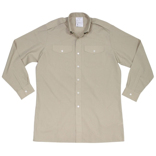 GB Shirt, khaki, long sleeve, like new
