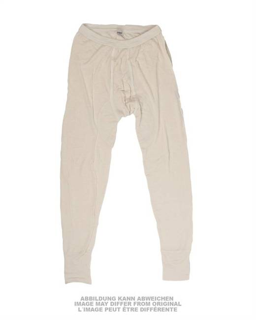 GERMAN LONG JOHNS FLAME-RET. - OFF WHITE - USED