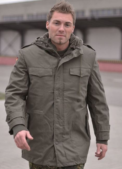 GERMAN OD PARKA WITH LINER