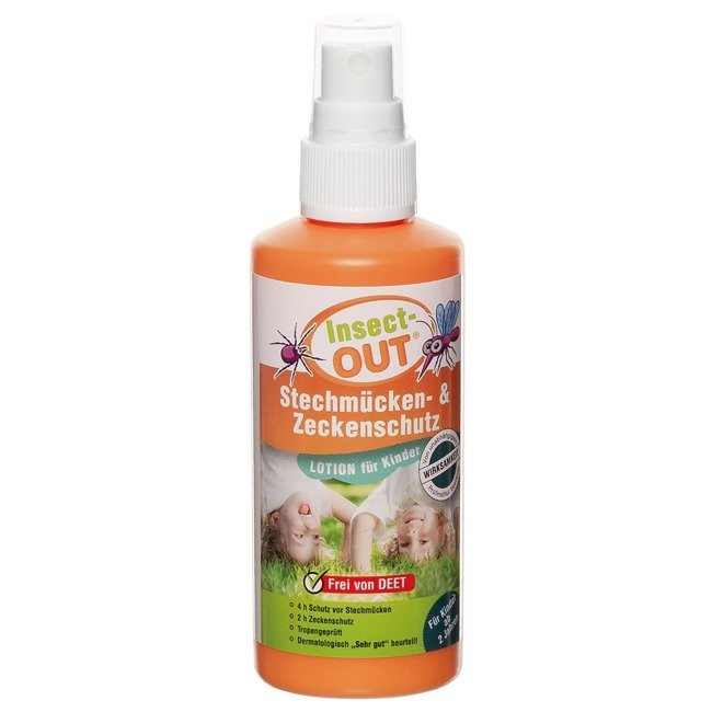 Insect-OUT 100 ml Kids Mosquito and Tick Protection