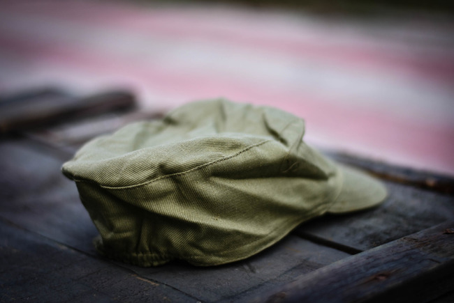 Khaki Cap, Romanian Army Surplus