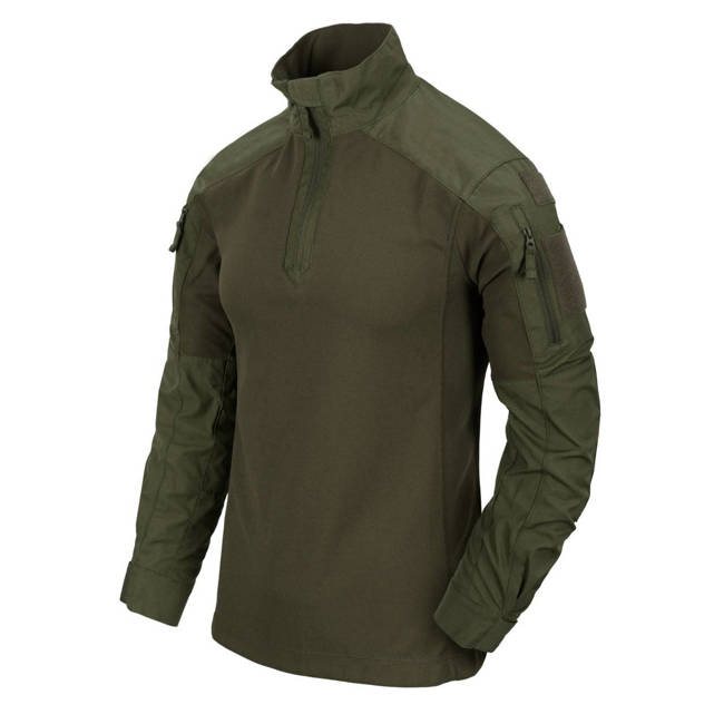 MCDU COMBAT SHIRT - NYCO RIPSTOP - OLIVE GREEN - HELIKON