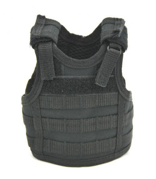 "MINI SECURITY VEST ""BEER"" - BLACK"