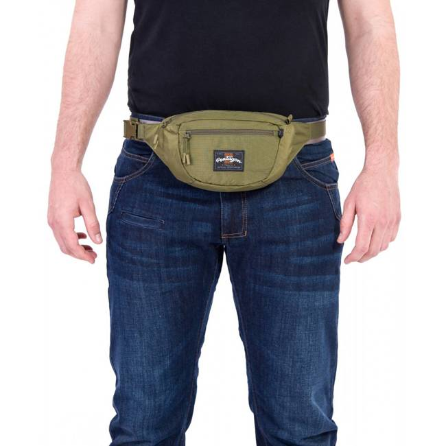 MINOR TRAVEL POUCH - OLIVE - PENTAGON