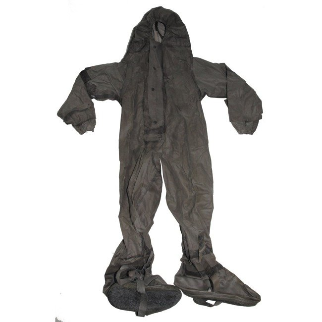 "NVA RUBBER COVERALL ""SBA 1"", GREY (SALES ONLY IN EU)"