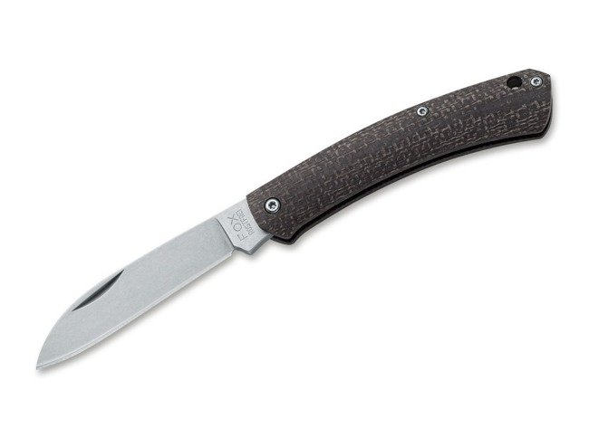 Nauta Micarta Bison Pocket Knife-Fox Knives