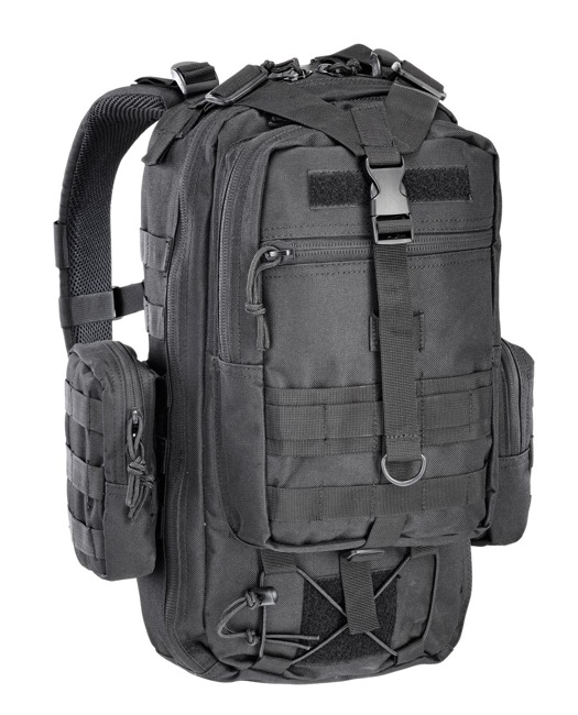 ONE DAY TACTICAL BACKPACK 25 l black