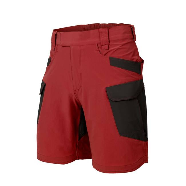 "OUTDOOR TACTICAL ULTRA SHORTS 8.5"" - VERSASTRETCH LITE - CRIMSON SKY/BLACK - HELIKON"