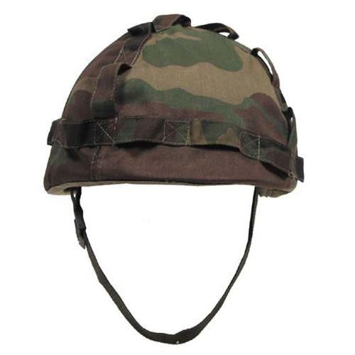 Plastic helmet with cover Woodland