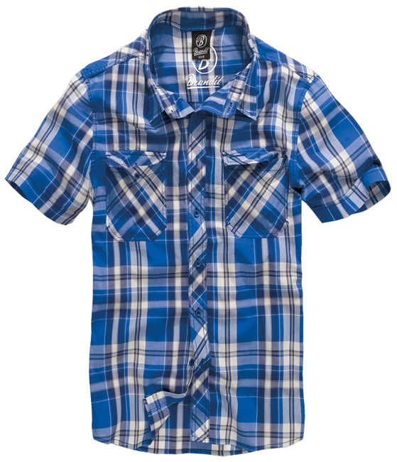 Roadstar shirt 1/2 sleeve blue