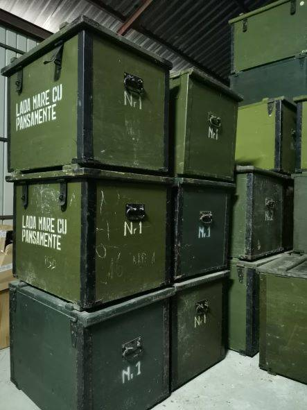 Romanian Military Crate Nr. 1 - 68x50x53cm