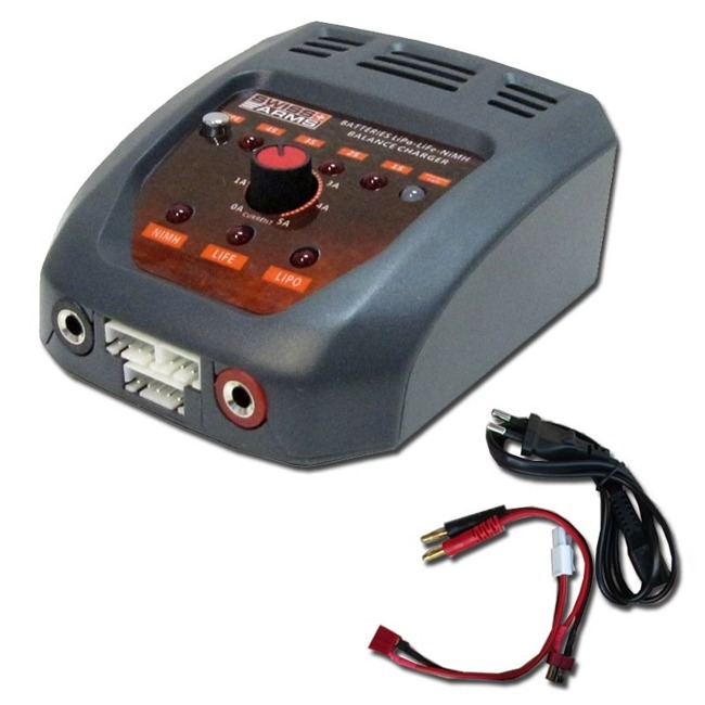 SWISS ARMS LiPo / LiFe / NIMH battery charger