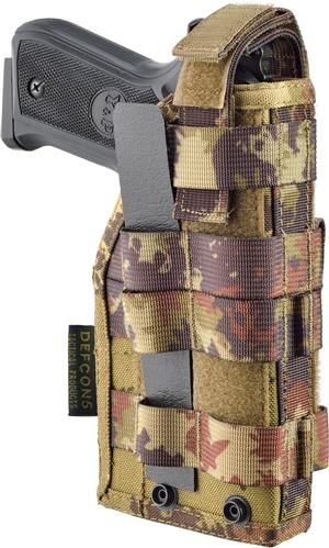 Toc pistol Molle Plus Defcon5 - Vegetato Italiano