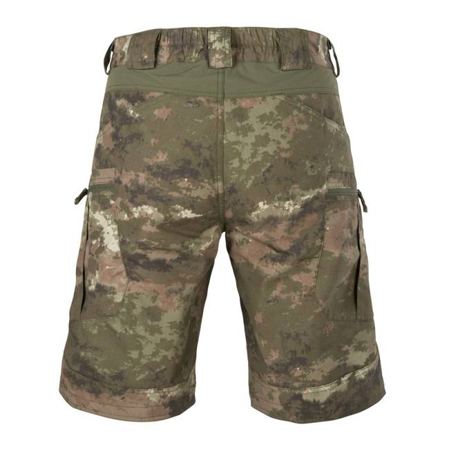 URBAN TACTICAL SHORTS FLEX 11 POLYCOTTON RIPSTOP - LEGION FOREST - HELIKON