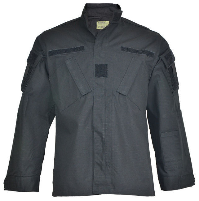 US Black R/S ACU FIELD JACKET