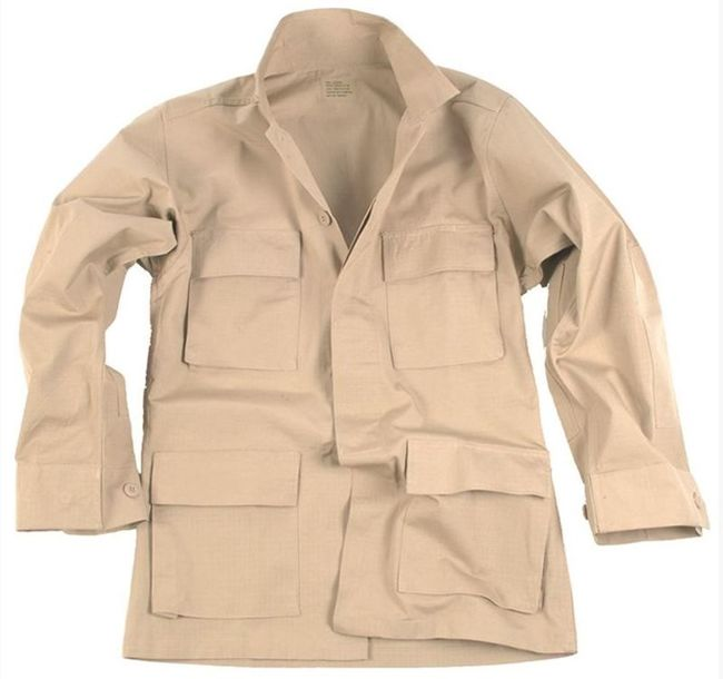 US Khaki R/S BDU FIELD JACKET