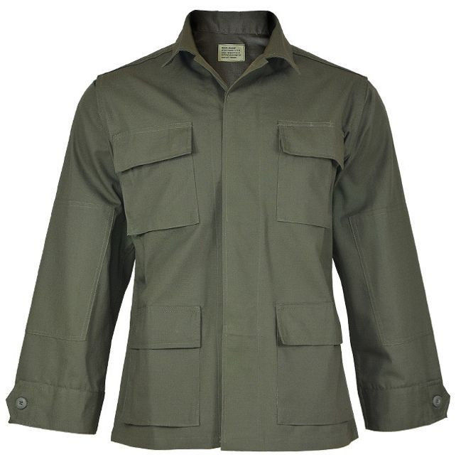US OD R/S BDU FIELD JACKET