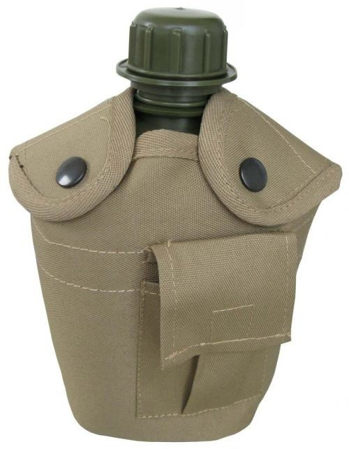US PLASTIC CANTEEN W/ COYOTE COVER