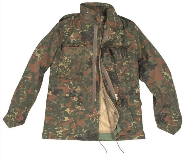 US STYLE Flecktarn M65 FIELD JACKET WITH LINER