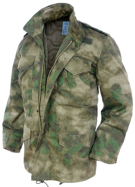 US STYLE Mil-Tacs FG M65 FIELD JACKET WITH LINER