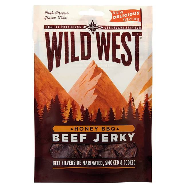 WILD WEST BEEF JERKY HONEY BBQ 70G - MFH