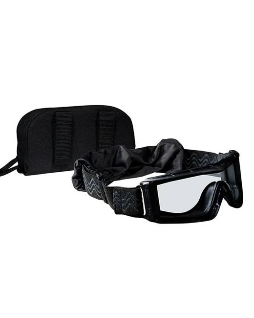 X810 TACTICAL GOGGLES BOLLÉ - BLACK - MILTEC
