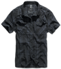 Roadstar shirt 1/2 sleeve black blue
