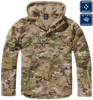 Windbreaker jacket tactical camo